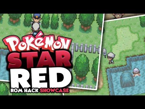 Pokemon Star Red - Pokemon Rom Hack Review/Showcase