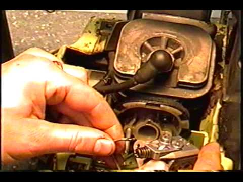 HOW TO INSTALL Walbro CARBURETOR ON THE POULAN 2150 CHAINSAW AFTER TEARDOWN AND REBUILD