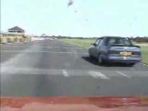 Peugeot 205 Mi16 vs Ford Sierra Cosworth Category: Autos & Vehicles