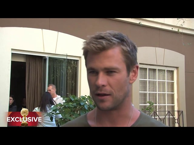 "Chris Hemsworth ""Blackhat"" HFPA Exclusive"