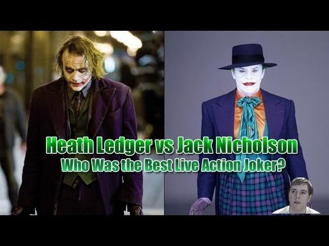 Heath Ledger vs Jack Nicholson - Who Was the Best Live Action Joker?