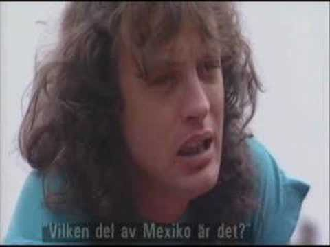 Rundgång SVT2, Interview with Angus Young