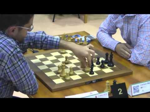 Aronian vs Carlsen - 2014 World Blitz Championship