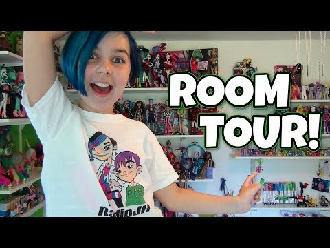 Room Tour - My Little Pony. Minecraft. Monster High. LEGO. Star Wars and More