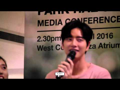 160417 Park Hae Jin Media Conference In Singapore (2)