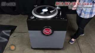 RCA BQ-2B Transcription Turntable