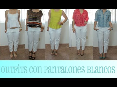 Outfits con Pantalones Blancos