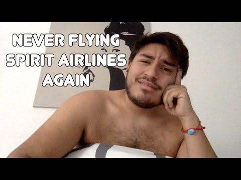 Never Flying Spirit Airlines Again