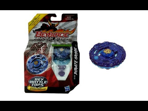 (CLOSED)Beyblade Shogun Steel SS-08 Pirate Orochi 145D Review Unbox