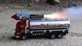 EXPERIMENT Rocket POWERED Truck!!!
