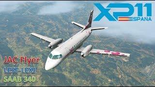 LEST-LEXJ / SAAB 340  / X-PLANE 11 / ¿QUIÉN NECESITA GPS?