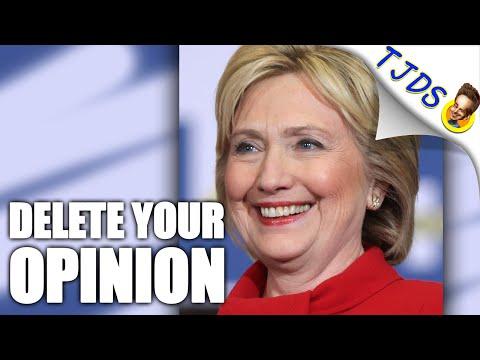 Hillary's Negative Rating Climbs Despite A Decent Tweet