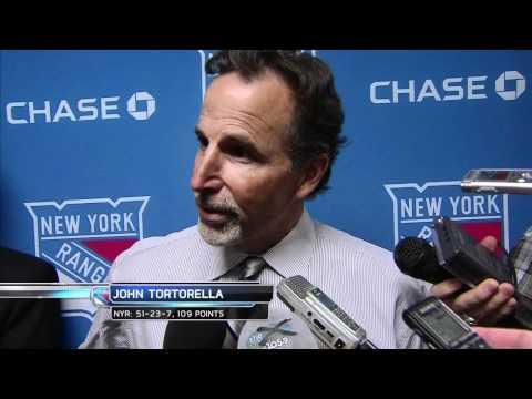 John Tortorella post-game vs. Penguins - 4/5/2012