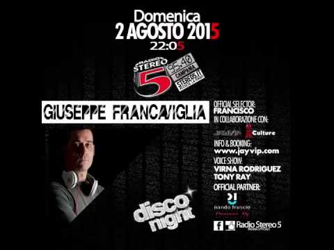 Giuseppe Francaviglia Radio Stereo 5 Disco Night ! (Funky Minimal Techno)
