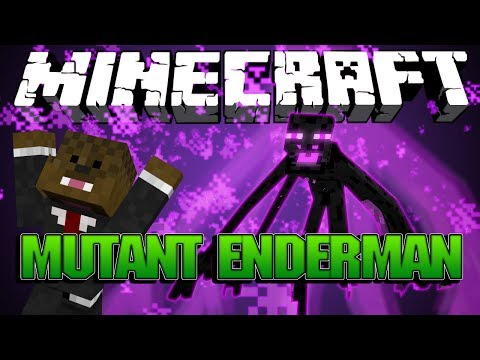 Minecraft Mod Showcase: Mutant Enderman Mod (Mutant Creatures Mod Pack)