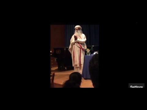 Sadhguru Jaggi Vasudev At The United Nations video