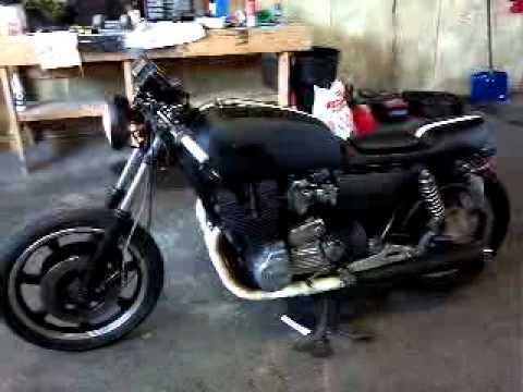 Xs1100 Cafe Racer Youtube