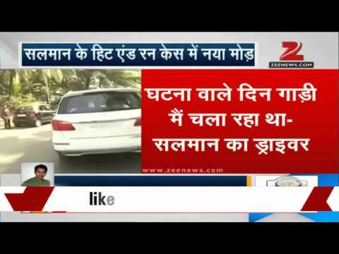 Hit-and-run case: Salman Khan's driver says he was driving the car