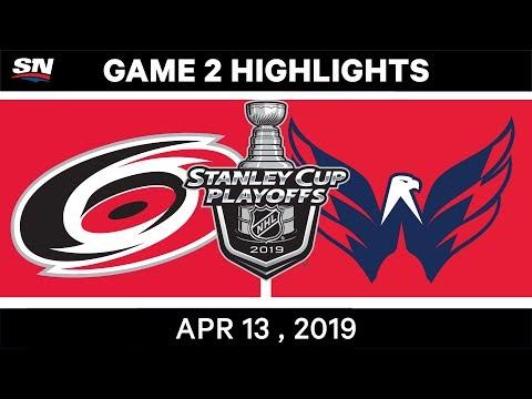 NHL Highlights | Hurricanes Vs Capitals, Game 2 – Apr 13, 2019