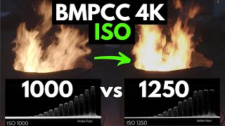 How ISO affects Dynamic Range on the BMPCC 4K