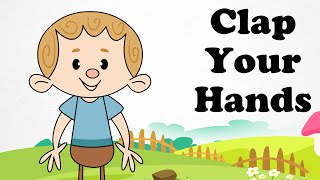 Clap You Hands Listen to the Music | Cartoon Nursery Rhymes Songs For Children