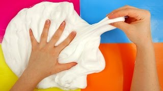 Fluffy Marshmallow Slime How to Make DIY