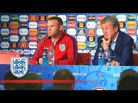 Wayne Rooney & Roy Hodgson - England v Iceland Euro 2016 press conference | FATV News