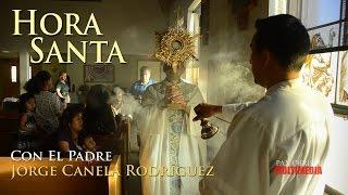 Hora Santa - Padre Jorge Canela - 8-3-14