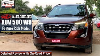 Mahindra XUV500 W9 2019 Detailed Review with On Road Price | XUV500 2019 W9