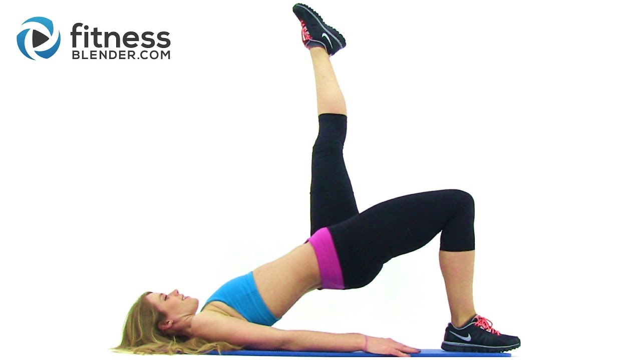At Home Hamstring Workout Video - Hamstring Exercises with