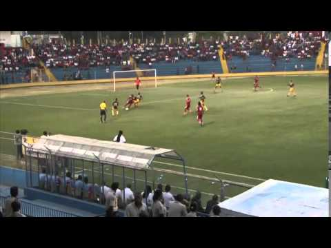 CFU Men's Highlights St  Kitts & Nevis vs Barbados in haiti
