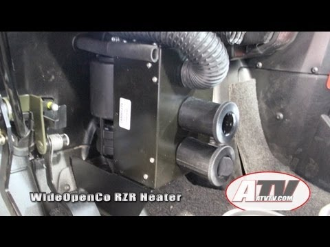 ATV Television Product Review - RZR Heater Install