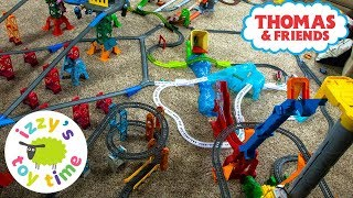MASSIVE THOMAS TRACKMASTER TRACK! Thomas and Friends with Brio and More | Fun Toy Trains for Kids