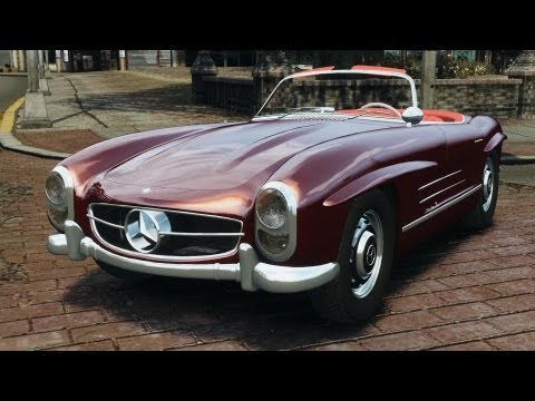 Mercedes-Benz 300 SL Roadster v1.0