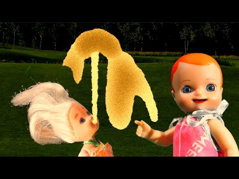 Мультик Люси Мама и Папа: Прибор для снов и розыгрыш от подружек - анимация для детей куклы for kids