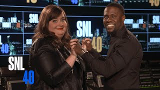 SNL's Aidy Bryant and Host Kevin Hart Fall in Love - Saturday Night Live