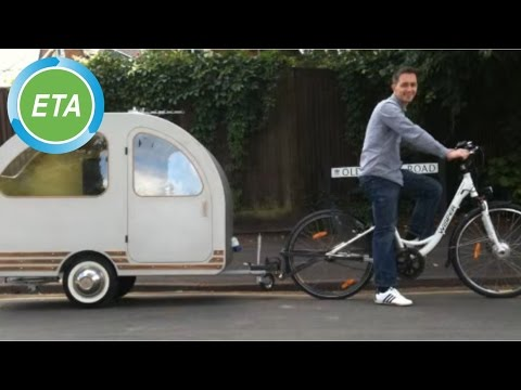 Bicycle towing caravan - QTvan