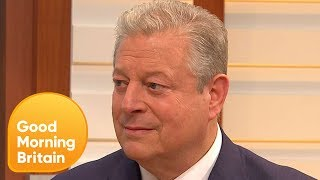 Al Gore Talks President Trump's Stance on Climate Change and North Korea | Good Morning Britain