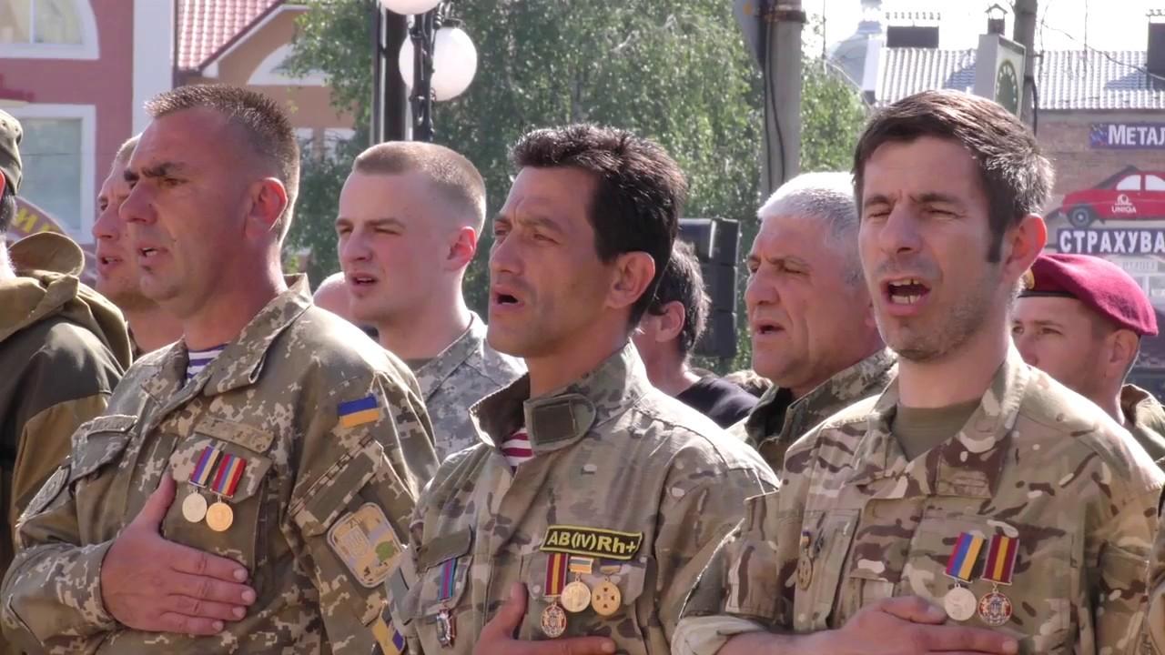 До Дня Героїв у Калуші нагородили вояків УПА та учасників АТО