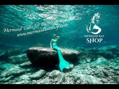 Mermaid Tails for Children and Adults - Real Mermaid Swimming Underwater
