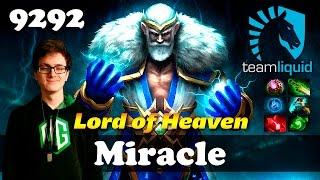 Miracle Zeus Lord of Heaven | 9292 MMR Dota 2