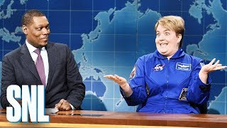 Weekend Update: Astronaut Anne McClain - SNL