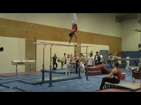 Temple University Gymnastics Preseason 2012