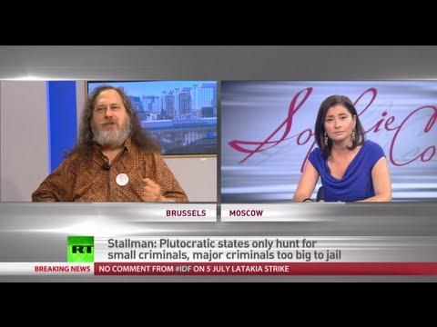 Richard Stallman: Snowden & Assange besieged by empire but not defeated
