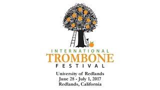 Junior International Trombone Festival 2017
