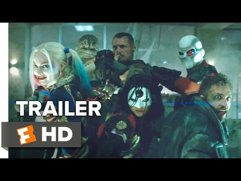 Suicide Squad Official Comic-Con Remix Trailer (2016) - Margot Robbie Movie