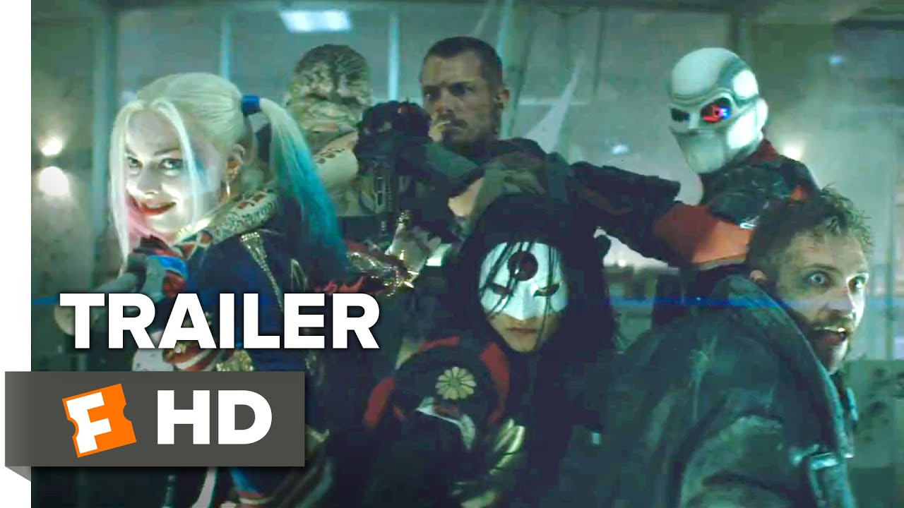 Suicide Squad Official Comic-Con Trailer (2016) - Margot Robbie Movie