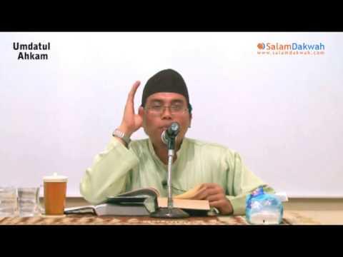 Umdatul Ahkam Oleh:Ustadz Kurnaedi,Lc - Part 4