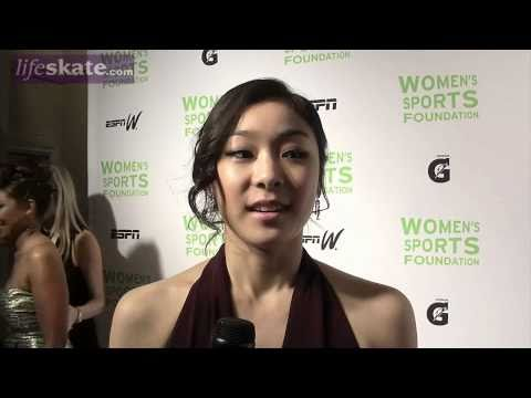 Yu-Na Kim interview in English in NYC (October 2010)