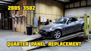 2005 350Z Quarter Panel Replacement